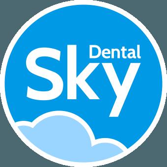 Glass Dappen Dishes - Blue
